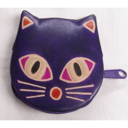 Gringo Leather Purple Cat...