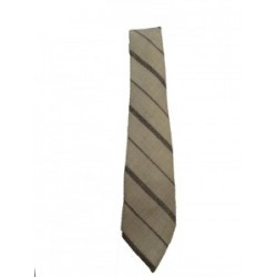 Cambrian Cream Stripe Wool Tie