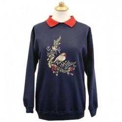 Ramblers Robin Navy Sweatshirt