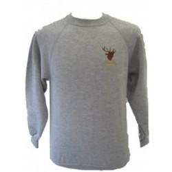 Exmoor Stag Grey Sweatshirt