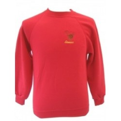 Exmoor Stag Red Sweatshirt
