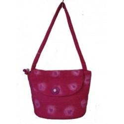 Koseli Felt Pink Spot Bag