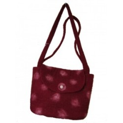 Koseli Felt Red Spot Bag