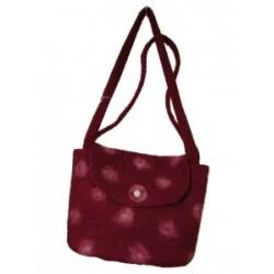 Koseli Felt Red Spot Bag