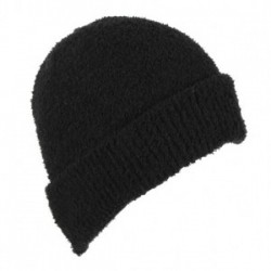 Dents Soft Sponge Black Beanie
