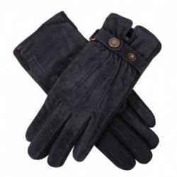 Dents Stretch Suede Navy Glove