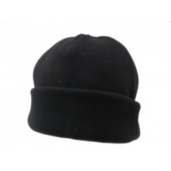 Dents Fleece Beanie Black Hat