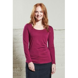 Nomads Ruched Magenta Top