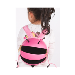 Bug Pink Back Pack With Reigns