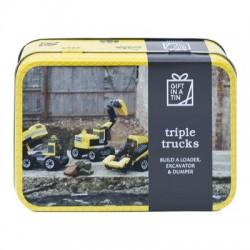 Tin Triple Trucks