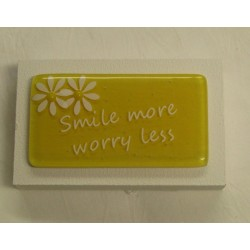 """Inspired Words """"Smile more""""..."""