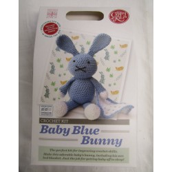 Baby Blue Bunny Crochet Kit