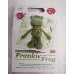 Frankie Frog Crochet Kit