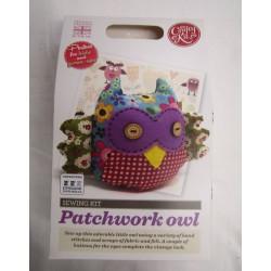 Patchwork Owl Kit Sewing Kit