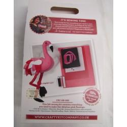 Pretty Flamingo Sewing Kit