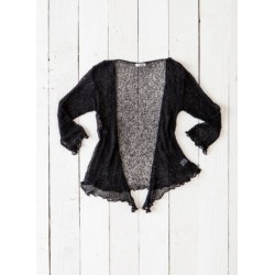 Gringo Looseknit Black Shrug