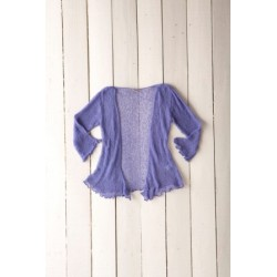 Gringo Loose Knit Lilac Shrug