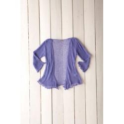 Gringo Loose Knit Lilac Shrug
