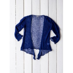 Gringo Loose Knit Navy Shrug