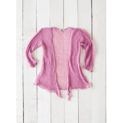 Gringo Loose Knit Rose Shrug